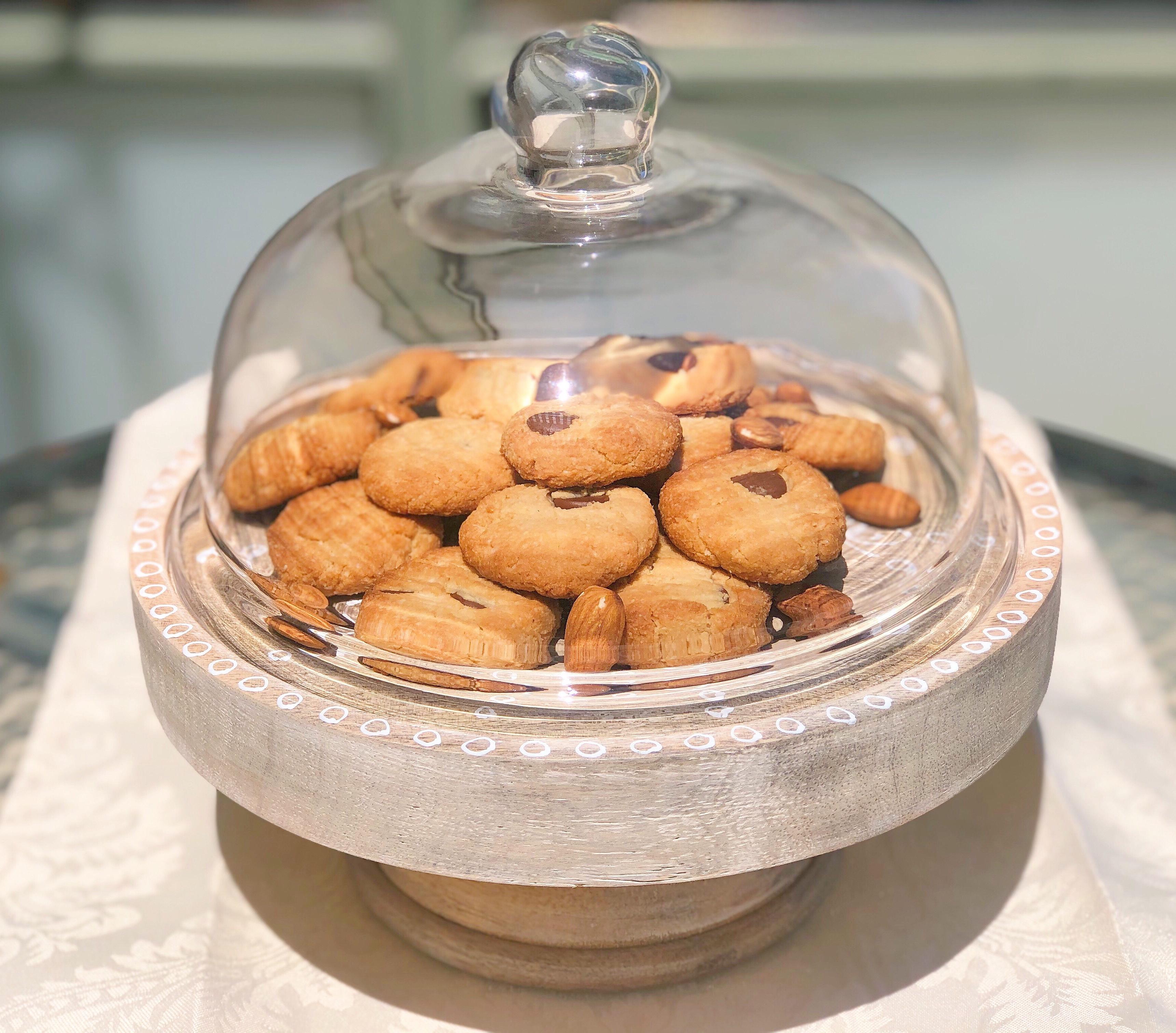 עוגיות שקדים ומייפל ללא גלוטן